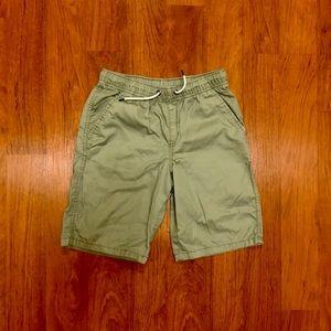 Boys Cat & Jack Camouflage Green Shorts
